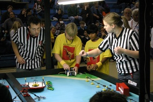 Roboraptors at the third competition