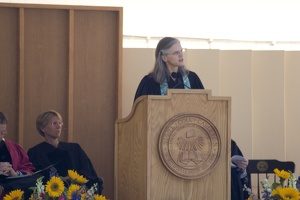 308-5890 Commencement - Salutory by Carolyn Fure-Slocum '82 College Chaplain