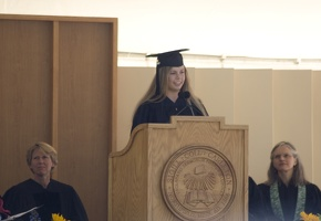 308-5940 Commencement - Senior Reflections: Sara Sanford