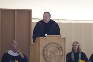 308-6113 Commencement - Conferring of Degrees: Michael Armacost '58- Chair, Board of Trustees