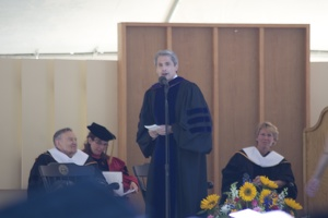 308-6126 Commencement- Presentation of Candidates for Degree of Bachelor of Arts: Scott Bierman, Dean of the College