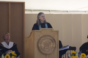 308-6271 Commencement - Valedictory: Carolyn Fure-Slocum '82 College Chaplain