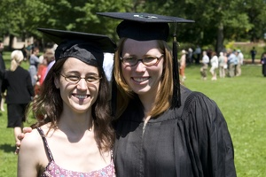 308-6376 Commencement - Lucy and Liesl