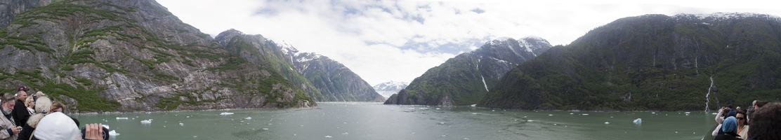 315-9875--9886 Tracy Arm Fjord Glacier Panorama