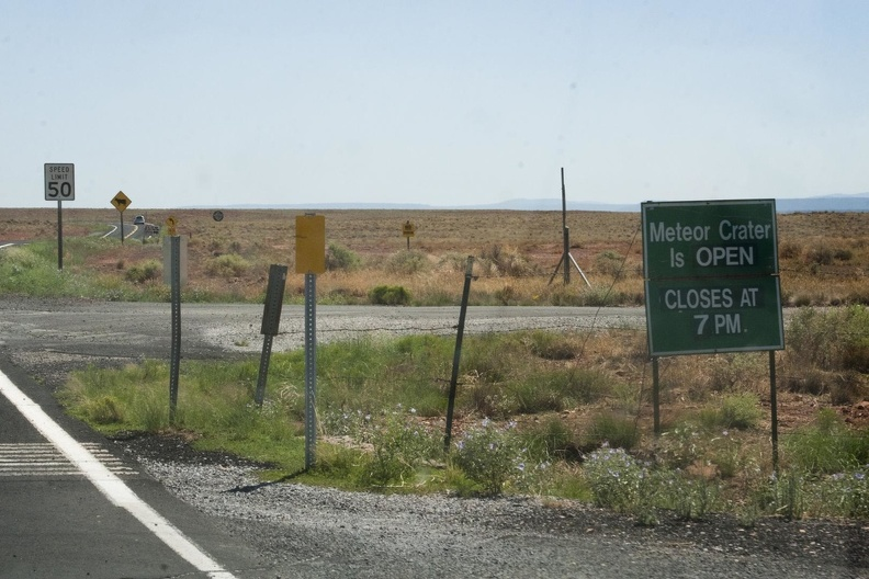 316-4391 Meteor Crater Closes at 7 PM.jpg