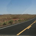 316-4413 Meteor Crater from the Road