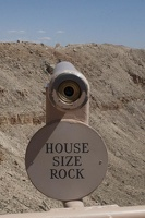 316-4475 Meteor Crater - House Size Rock