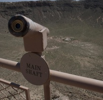 316-4486 Meteor Crater - Main Shaft