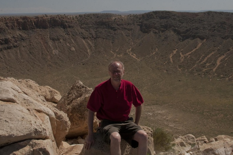 316-4540 Dick by Meteor Crater.jpg