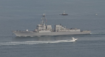 316-7186 USS Halsey (DDG-97) Off Cabrillo National Monument