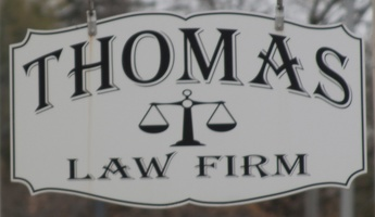 317-1593 Thomas Law Firm Shingle