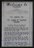 317-2423 TNM Museum - Legend of Tucumcari Mountain