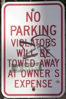 320-2474 Portsmouth NH Violators Will Be Towed Away