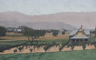 320-8830 Claremont Rural Scene on the mural