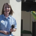 321-1306 San Diego Zoo - Jessica and the Parrot