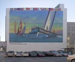 321-9732--9739 America's Cup Mural