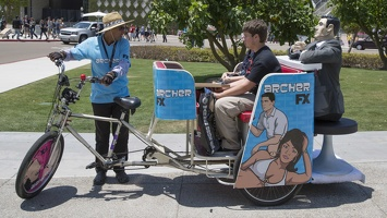 400-2988 Comic Con - Archer Pedicab