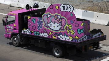 400-3003 Comic Con - Hello Kitty Truck