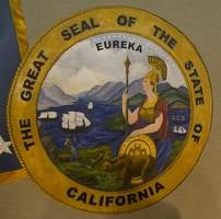 403-5710 USS Reagan - California Seal