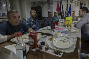 403-5808 USS Reagan - Chief Petty Officers Mess