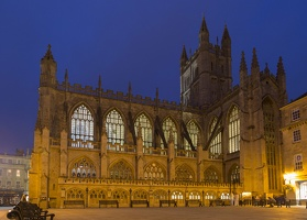 404-1405 Bath Abbey - Night