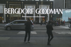 407-1970 NYC - Bergdorf Goodman 5th Avenue
