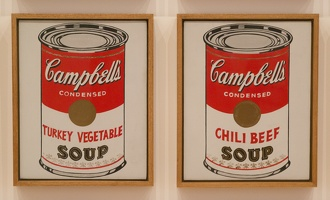 407-1636 NYC - MOMA - Worhol - Campbell's Soup Cans 1962 (2)