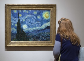 407-1732 NYC - MOMA - van Gogh - The Starry Night 1889