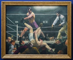 407-2130 NYC - Whitney - George Bellows - Dempsey and Firpo 1924