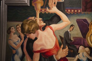 407-2406 NYC - Met - Thomas Hart Benton - America Today 1931 Dance Hall (detail)