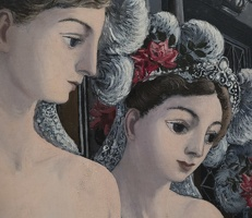 407-2438 NYC - Met - Paul Delvaux - The Great Sirens 1947 (detail)