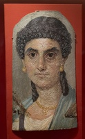 407-2507 NYC - Met - Woman in a Blue Mantle AD 54-68