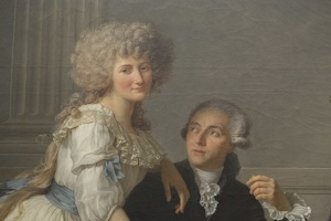407-2648 NYC - Met - Jaques Louie Davide - Lavoisier and his Wife 1788 (detail)