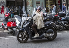 407-4476 IT - Sorrento - Corso Italia - Motorcyclist