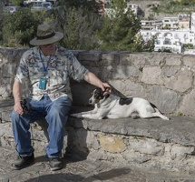 407-4714 IT - Positano - Bill and Dog
