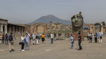 407-4181 IT - Pompeii - Forum - Vesuvius