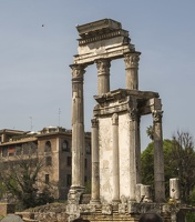 407-6081 IT - Roma - Temple of Vesta (front), Temple of Castor and Pollux