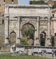 407-6094 IT - Roma - Septimius Severus Arch
