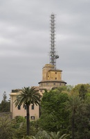 407-6976 IT - Roma - Vatican Radio - tower with antennae