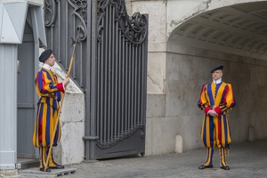 407-7206 IT - Roma - Vatican - Swiss Guards