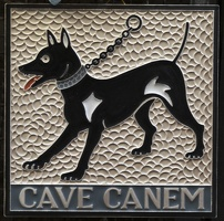 407-8422 IT - Orvieto - Cave Canem