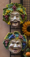 407-8424 IT - Orvieto - Ceramic Masks