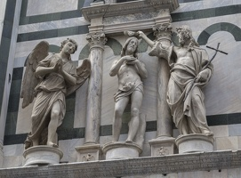 408-2734 IT - Firenze - Baptistery of St. John (detail), Piazza del Duomo