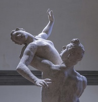408-2231 IT - Firenze - Galleria dell'Accademia - Giambologna - Rape of the Sabines (model) c 1582