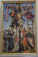 408-2240 IT - Firenze - Galleria dell'Accademia - Perugino e Lippi - Deposition from the Cross 1503-07