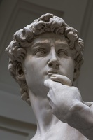 408-2515 IT - Firenze - Galleria dell'Accademia - Michelangelo - David (detail) 1501-04