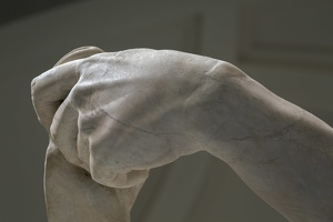 408-2573 IT - Firenze - Galleria dell'Accademia - Michelangelo - David 1501-04 (detail)