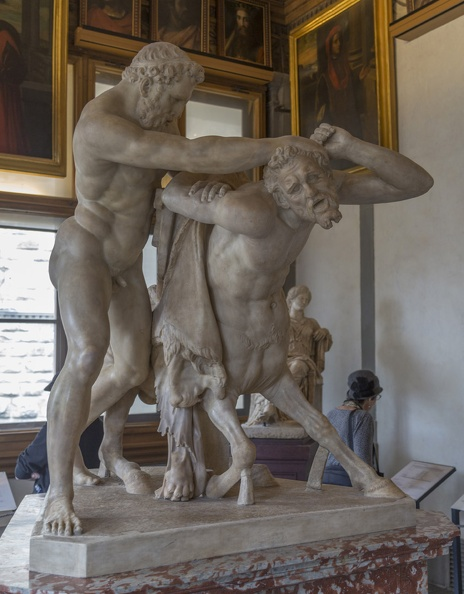 408-3015 IT - Firenze - Uffizi Gallery - Hercules and Nessus.jpg