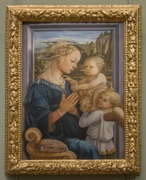 408-3103 IT - Firenze - Uffizi Gallery - Filipo Lippi - Madonna and Child with Two Angels c 1460-65 squared