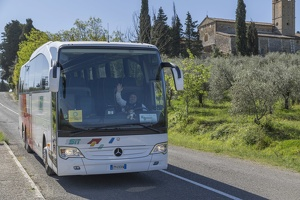 408-3850 IT - San Gimignano - Our Bus and Jean Luc